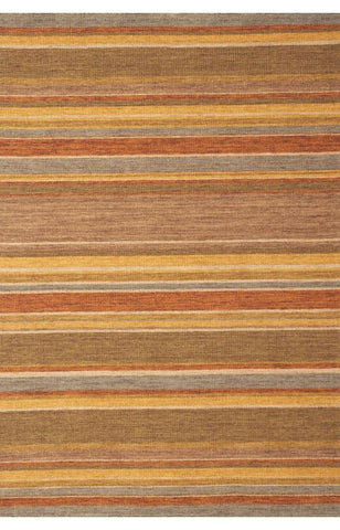 Abacasa 9788-5x8 Lifestyle Derby Rust/Brown/Yellow Area Rug - Peazz.com