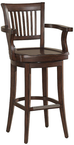 American Heritage Billiards 126109 Molena Counter Height Stool - Peazz Furniture