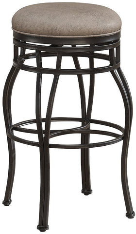 American Heritage Billiards 126112 Bella Backless Counter Height Stool in Aged Sienna - Peazz Furniture