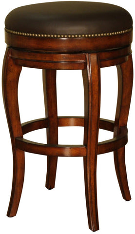 American Heritage Billiards 126866 Santos Backless Counter Height Stool - Peazz Furniture