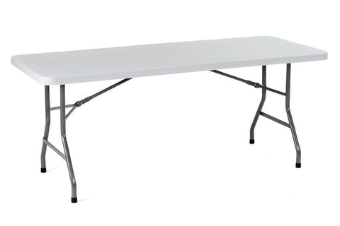 Boss Office Products BT3072 Boss Molded Folding Table 30X72 - Peazz Furniture