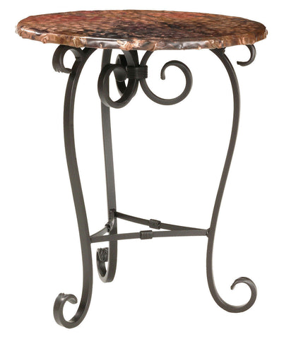 Stone County Ironworks 902-562-COP Stratford Occasional Table - Peazz Furniture