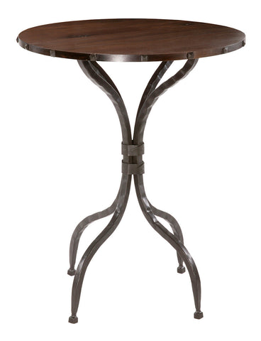 "Stone County Ironworks 904-199-WAL Forest Hill Bar Table 40"" w/ 30"" top - Peazz Furniture"