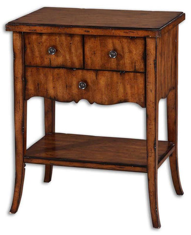 Uttermost 24140 Carmel End Table Accent Furniture - UTMDirect