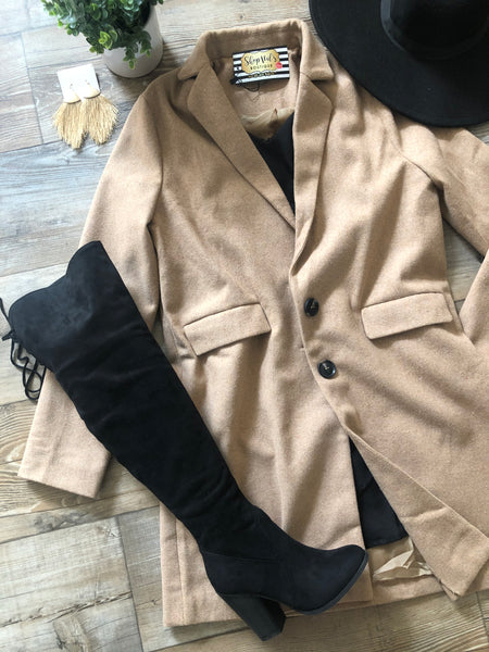 Sophisticated Wool Coat