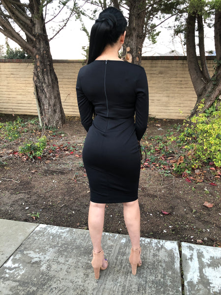 Xandria Dress -Black
