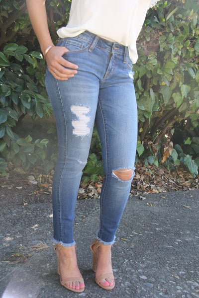 Breeze Ankle Length Jeans