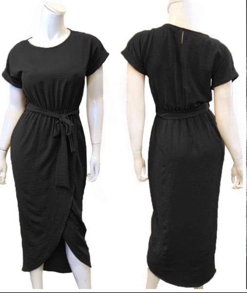 Downtown Soho Dress -Black