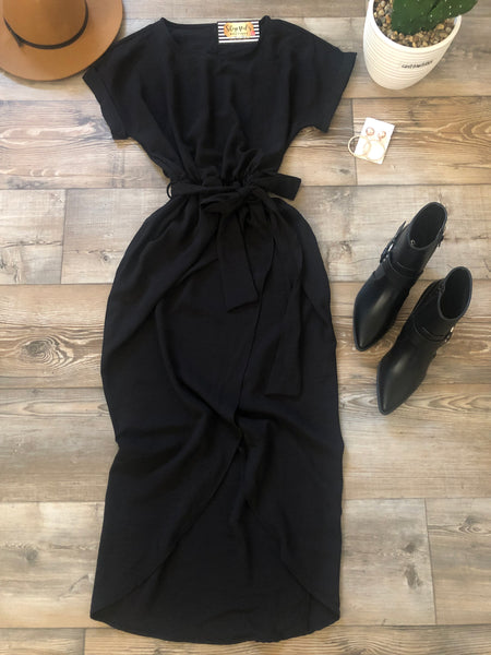 Downtown Soho Dress -Olive