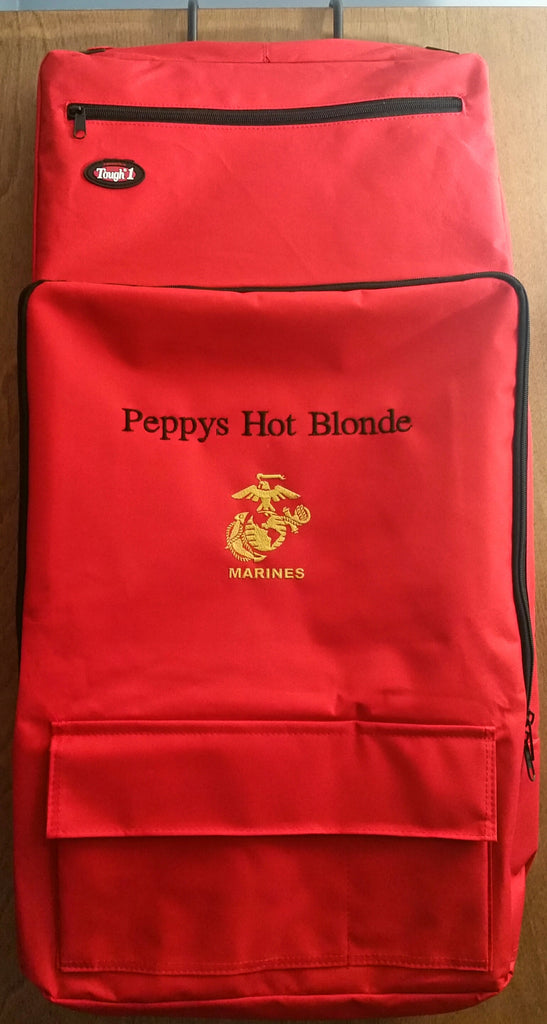 Horse/Dog Grooming/Barn Tote - Red - Tough 1 - Personalized/Monogrammed