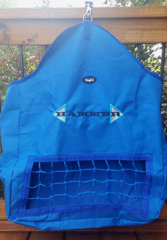 Royal Blue Slow Feed Hay Bag - Tough 1 - Personalized/Monogrammed