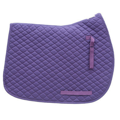 TuffRider Purple All Purpose Saddle Pad - Personalized/Monogrammed