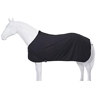 Fleece Horse Cooler/Blanket Liner - Black - Tough 1 - Personalized/Monogrammed