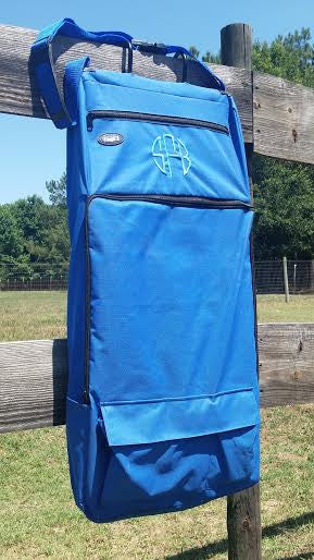Horse/Dog Grooming/Barn Tote - Blue - Tough 1 - Personalized/Monogrammed