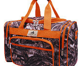 Camo/Camouflage Duffel/Overnight Bag/Gym Bag - Personalized/Monogrammed