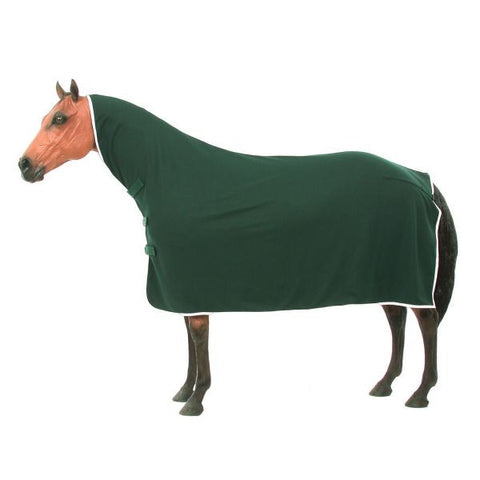 Fleece Horse Contour Cooler - Hunter Green - Tough 1 - Personalized/Monogrammed