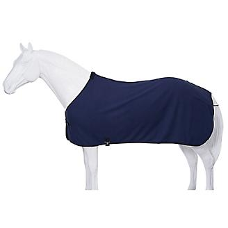 Fleece Horse Cooler/Blanket Liner - Navy - Tough 1 - Personalized/Monogrammed