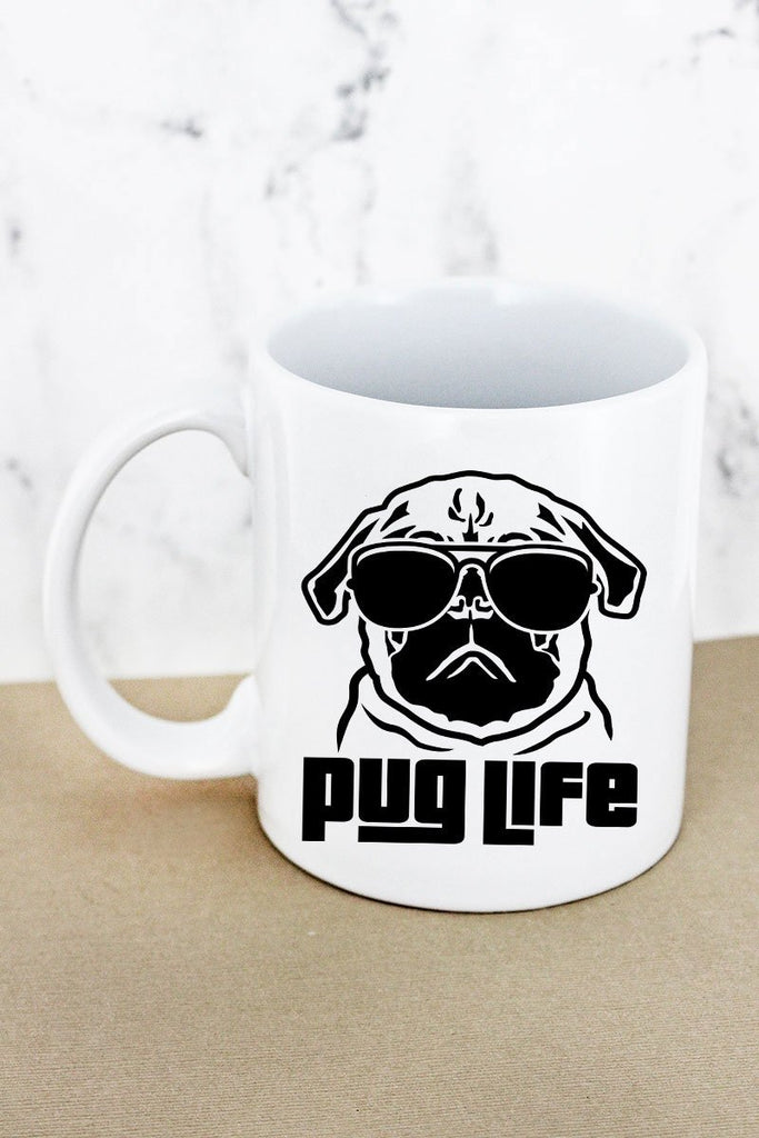 Pug Life - 11oz Coffee Mug