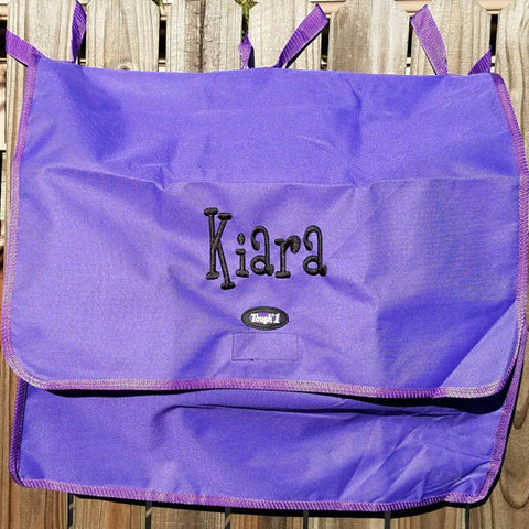 Horse Blanket/Turnout Storage Bag - Purple - Tough 1 - Personalized/Monogrammed