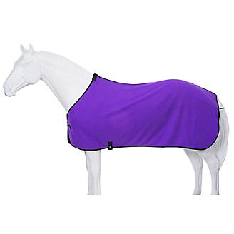Fleece Horse Cooler/Blanket Liner - Purple - Tough 1 - Personalized/Monogrammed