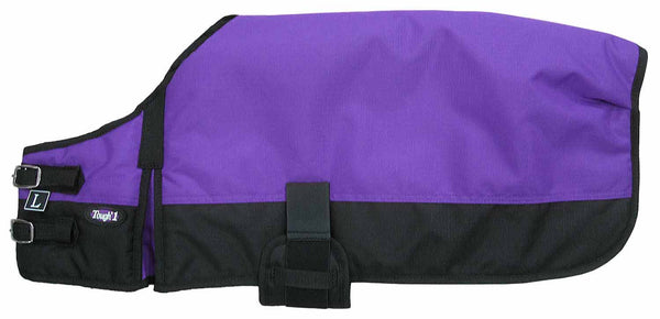 Dog Blanket/Jacket/Coat - Purple - Tough 1 - Personalized/Monogrammed