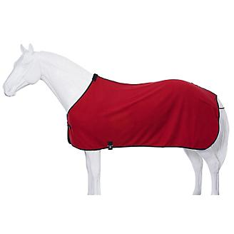 Fleece Horse Cooler/Blanket Liner - Red - Tough 1 - Personalized/Monogrammed