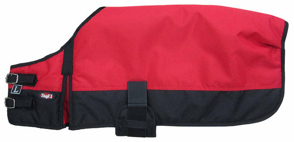 Dog Blanket/Jacket/Coat - Red - Tough 1 - Personalized/Monogrammed