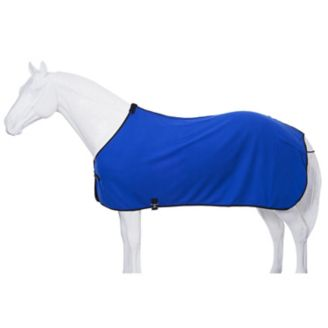 Fleece Horse Cooler/Blanket Liner - Royal Blue - Tough 1 - Personalized/Monogrammed
