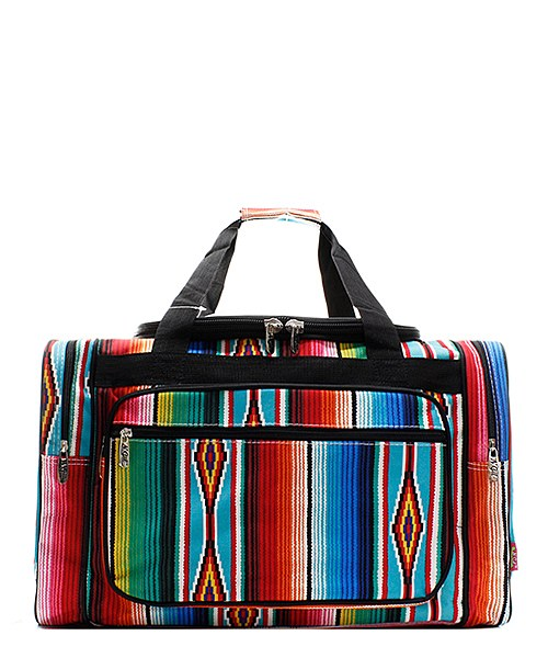 Very best Serape Duffel/Overnight Bag/Gym Bag - Personalized/Monogrammed  FO33