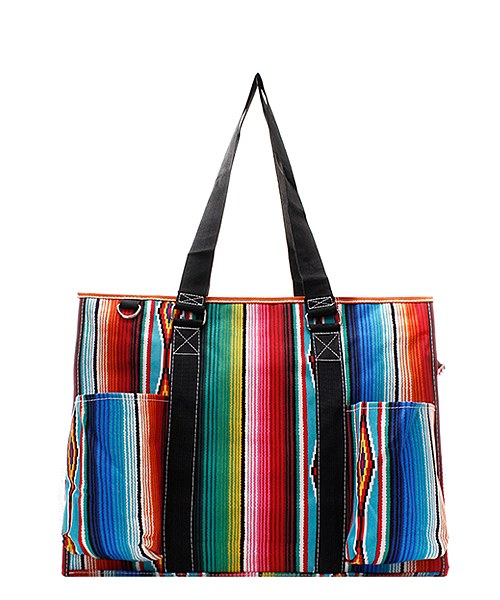 Serape Small Utility Tote/Tote Bag - Personalized/Monogrammed