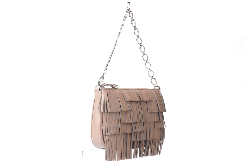 The Fringe Shoulder Baguette