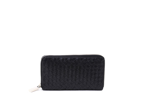 The Woven Zip Around Wallet