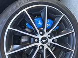 15-18 Mustang Caliper Cover Set - Coyote Blue