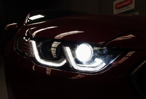 Falcon 2014+ FGX Low and High-Beam LED Upgrade