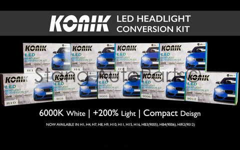 Konik LED Headlight Conversion Kits