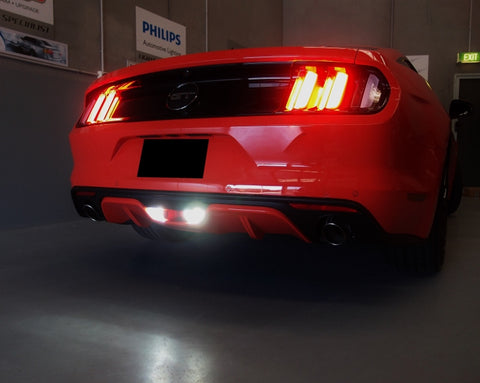 18 Mustang LED Reverse U0026 Rear Fog Lights