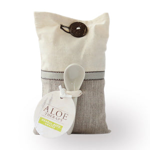 aloe therapy bath salt in a bag