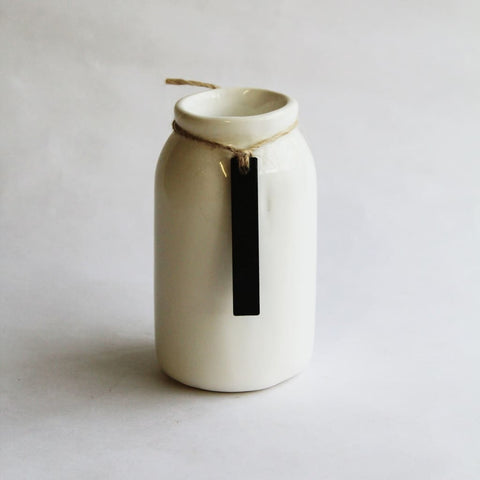 Ceramic Bottle For Diffuser Reeds - Bottle