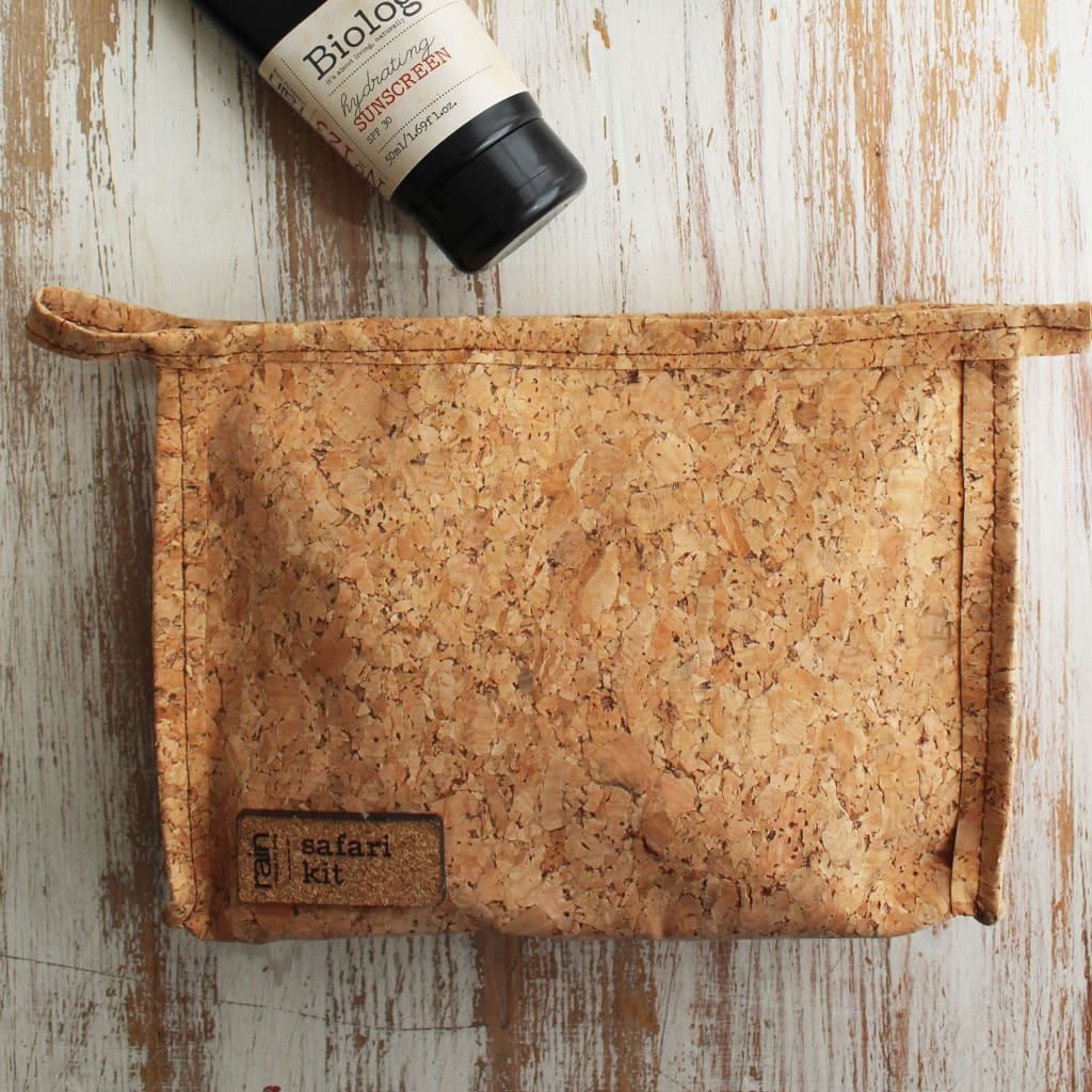 Cork Toilet Bag - Toilet Bag