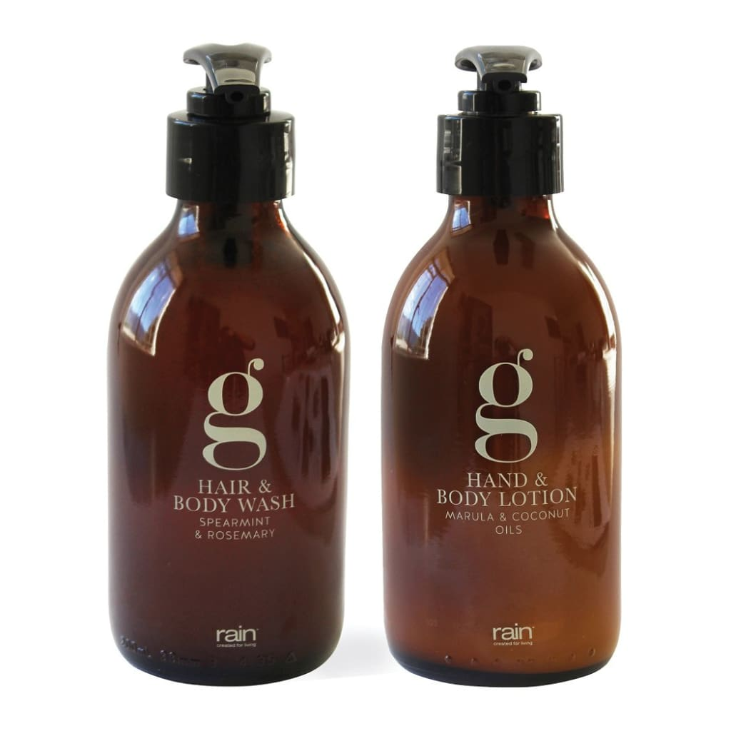 G-Range: Hair & Body Wash + Hand & Body Lotion - Wash