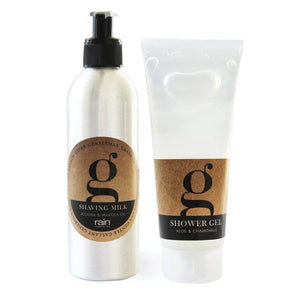 G-Range: Shaving Milk & Shower Gel - Shaving Milk