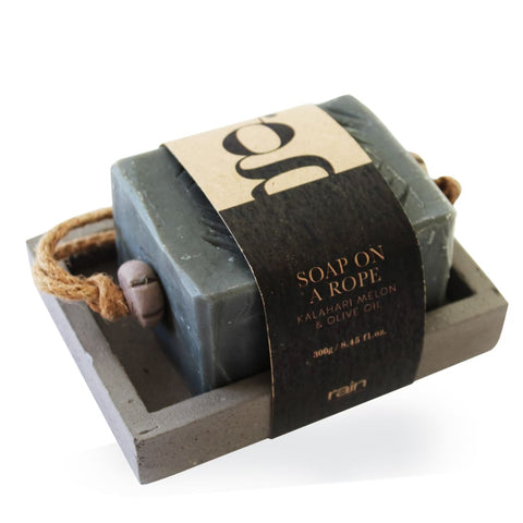 G-Range: Soap-On-Rope On A Tray - Soap