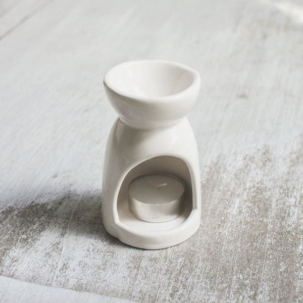 Oil Burner Small - White - Oil Burner