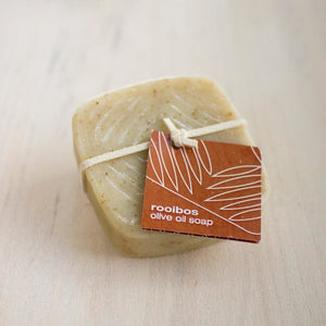 Soap - Rooibos Olive Oil Soap - Olive Oil Soap
