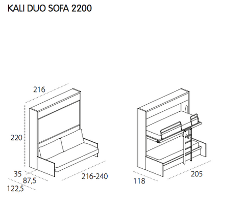 Kali Duo Sofa