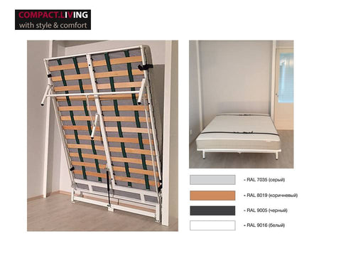 ERGOBED wallbed mechanism