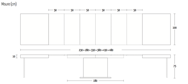 Tower maxi dimensions