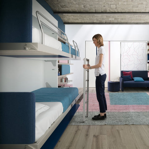 Kali Duo Board bunkbed by Clei, Italy