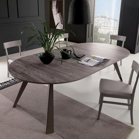 CONVIVIO round extendible table by Easy-Line.it [EN]