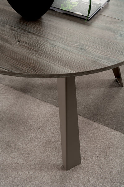 CONVIVIO round extendible table by Easy-Line.it